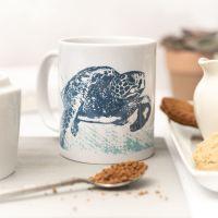Beautiful Ceramic Mug - Turtle Design