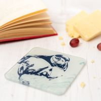 Puffin Coaster - Recycled Glass - Nautical Style