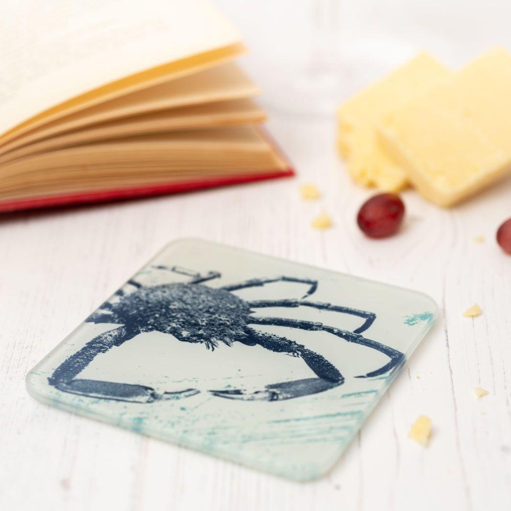 Glass Coaster - Spider Crab