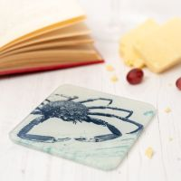 Spider Crab Coaster - Recycled Glass - Nautical Style