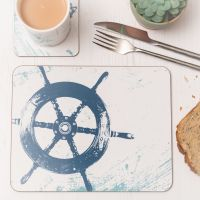 Place Mat - Ship's Wheel