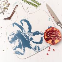 Octopus Chopping Board - Nautical Style
