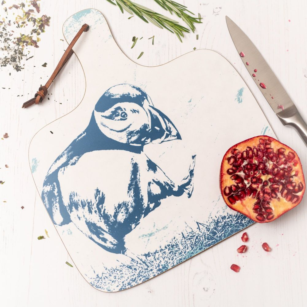 Chopping Board - Puffin