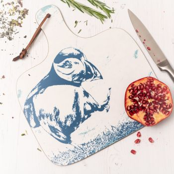 Puffin Chopping Board - Nautical Style