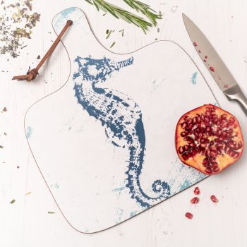 Seahorse Chopping Board - Nautical Style