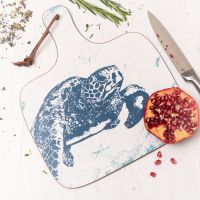 Turtle Chopping Board - Nautical Style