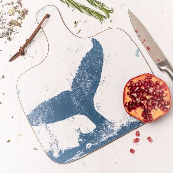 Whale's Tail Chopping Board - Nautical Style
