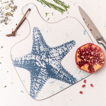 Starfish Chopping Board - Nautical Style