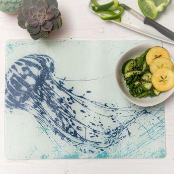 Jellyfish Worktop Saver - Glass Surface Protector