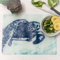 Textured Glass Surface Protector - Turtle