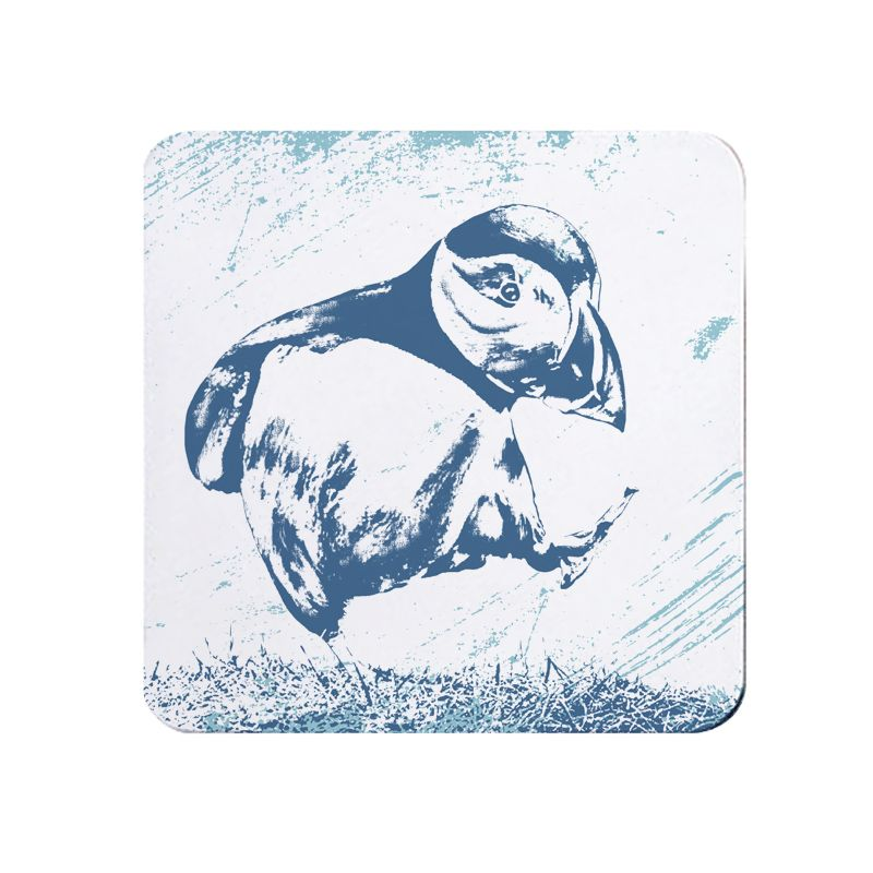 Melamine Teapot Stand - Puffin