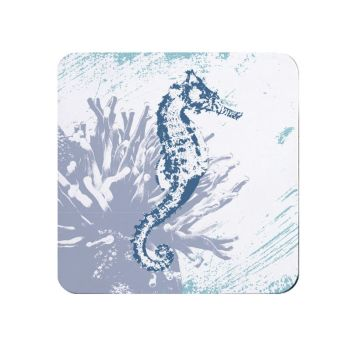 Seahorse Teapot Stand - Melamine - Nautical Style