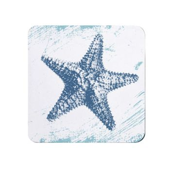 Starfish Teapot Stand - Melamine - Nautical Style