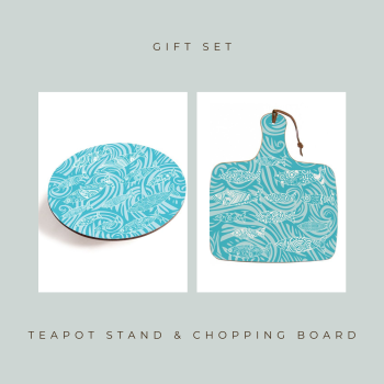 Teapot Stand & Chopping Board