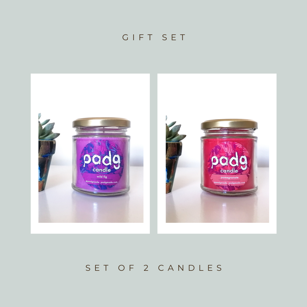 Set of 2 Candles