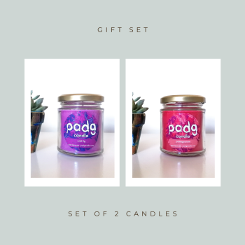 Set of 2 Candles - Wild Fig - Pomegranate