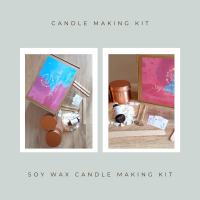 Soy Wax Candle Making Kit - Calm and Unwind