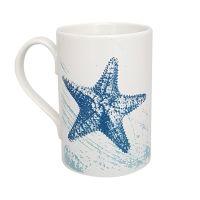 A Stunning Porcelain Mug - Starfish Design