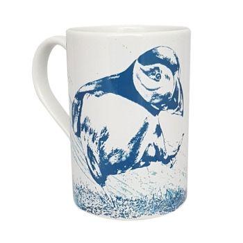 A Stunning Porcelain Mug - Puffin Design