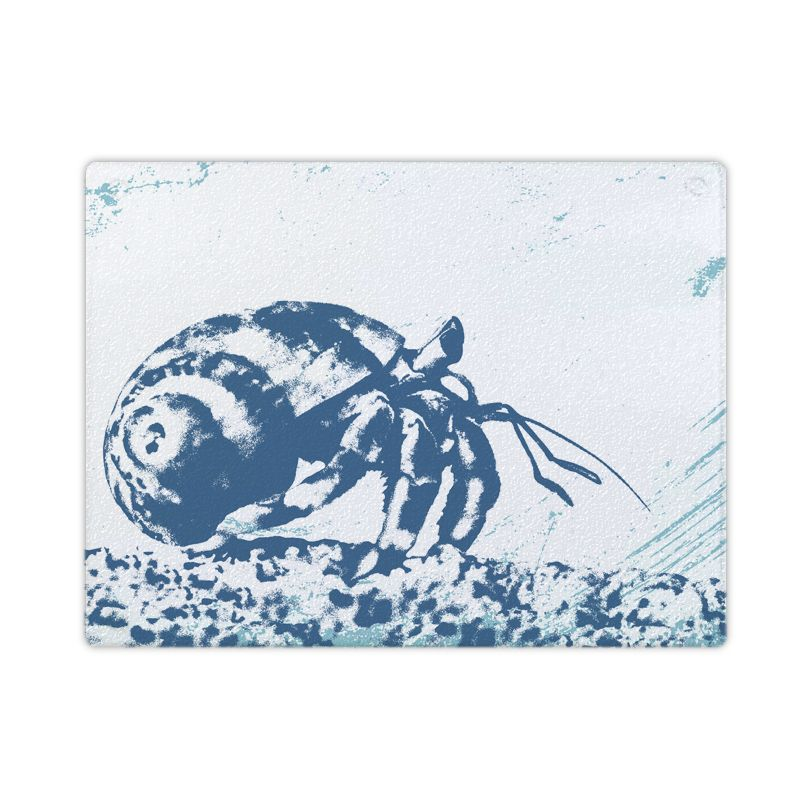 Textured Glass Surface Protector - Hermit Crab