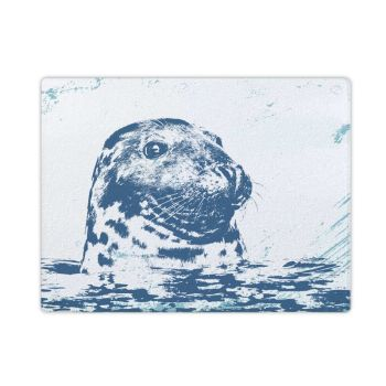 Textured Glass Surface Protector - Grey Seal