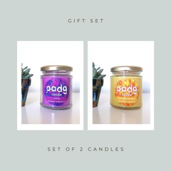 Set of 2 Candles - Wild Fig - Lemongrass & Ginger