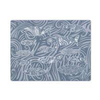 Dark Grey Shoal of Fish Glass Surface Protector - Worktop Saver
