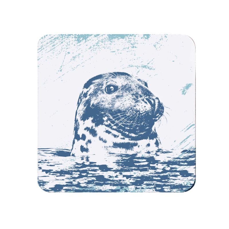Melamine Teapot Stand - Grey Seal