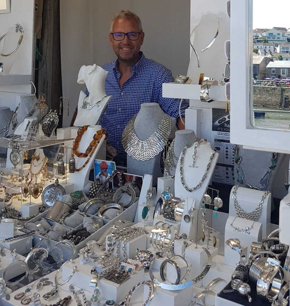 Silver Jewellery in Porthleven