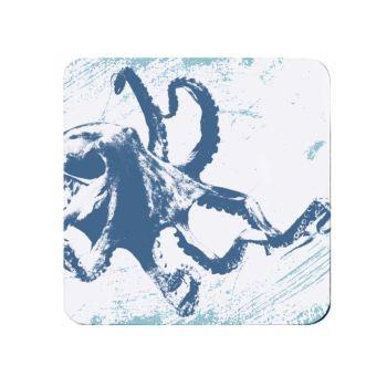 Octopus Teapot Stand - Melamine - Nautical Style