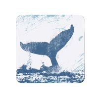 Whale Tail Teapot Stand - Melamine - Nautical Style