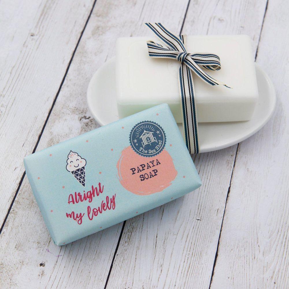 Mermaid Soap - Papaya - 190g