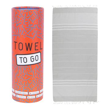Malibu Hammam Towel - Grey
