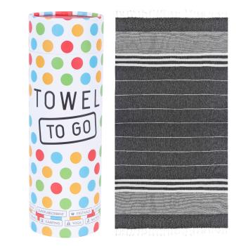 Malibu Hammam Towel - Black