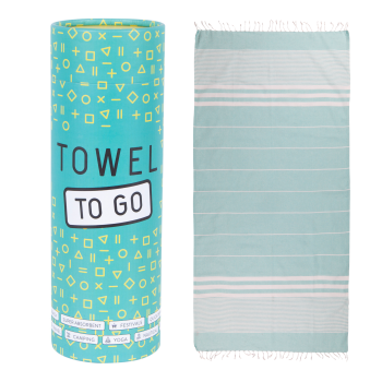 Malibu Hammam Towel - Turquoise
