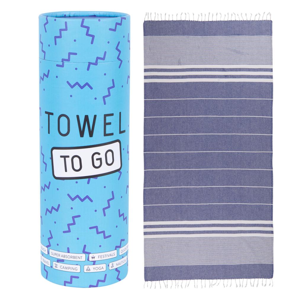 Malibu Hammam Towel - Blue