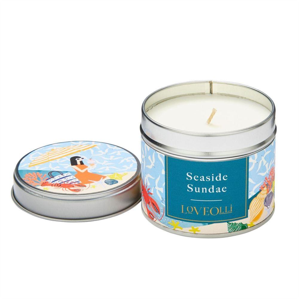 Candle in a Tin - Seaside Sundae