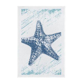 Nautical Full Colour Printed Tea Towel - Starfish