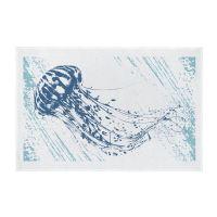 Nautical Full Colour Printed Tea Towel - Jellyfish