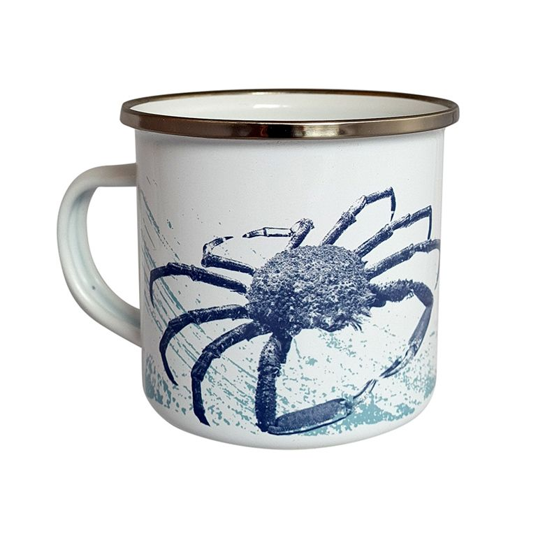 Enamel Mug - Spider Crab Design