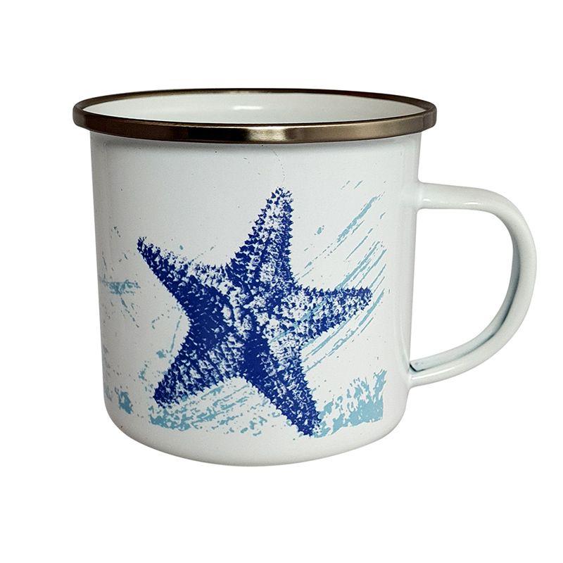 Enamel Mug - Starfish Design