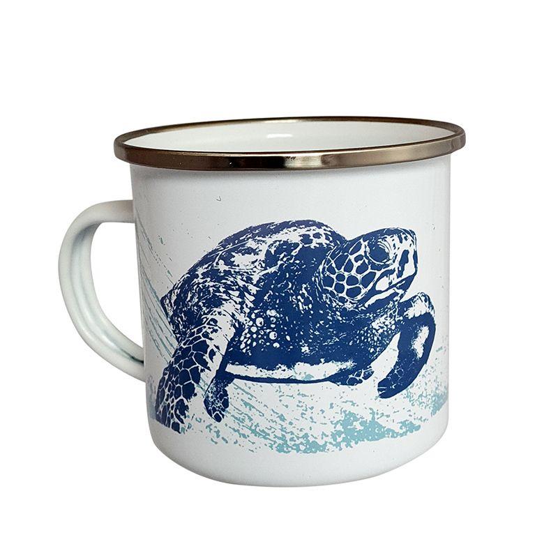 Enamel Mug - Turtle Design