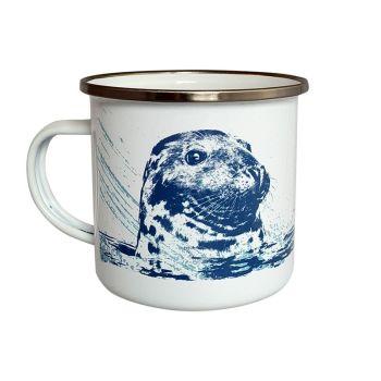 Enamel Mug - Seal Design