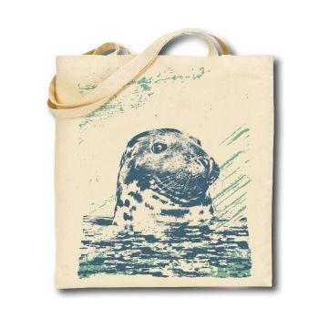 Cotton Tote Bag - Seal