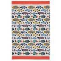 Aquarium - Full Colour Tea Towel - 100% Cotton
