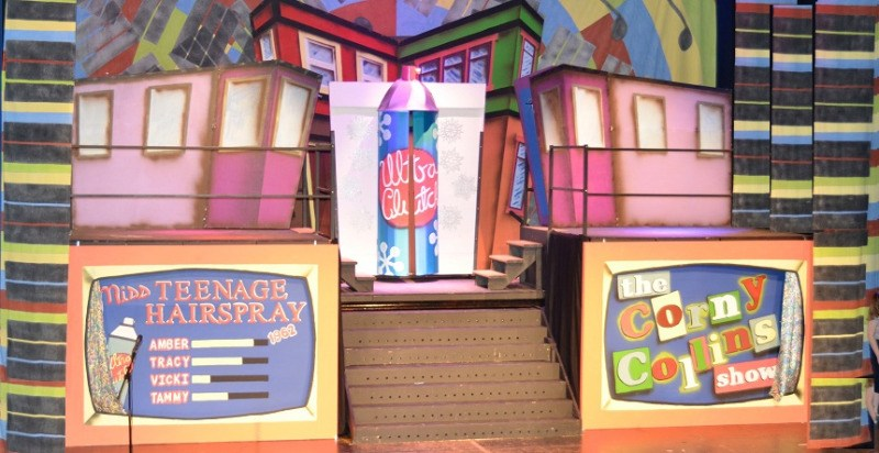 hairspray - c03 - a1stage scenery and set hire for