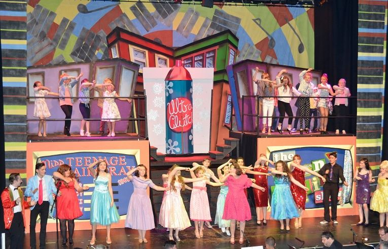 hairspray - c06 - a1stage scenery and set hire for