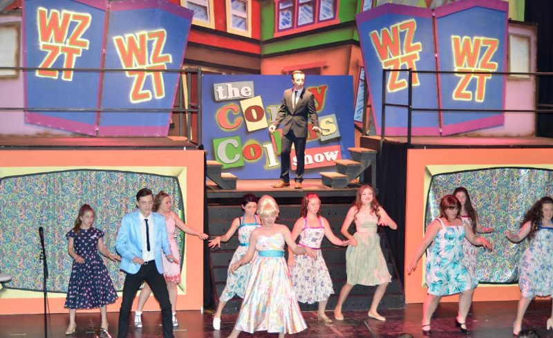 hairspray - c17 - a1stage scenery and set hire for