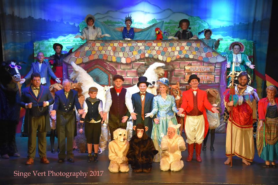 Doctor Dolittle - Click here for photos of the Set