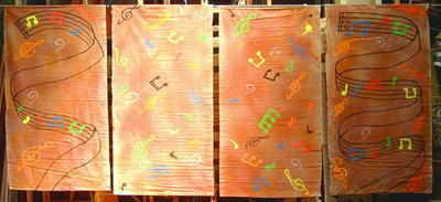 BA011 - Musical Notes Banners
